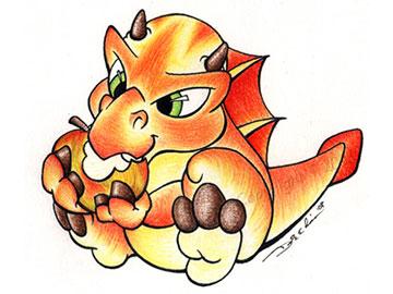 Honeycrisp Dragon - Thumbnail