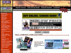 Website - Full Compass (2003) Thumbnail