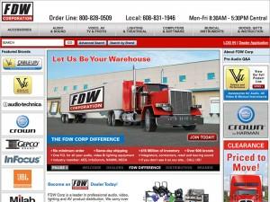 Website - FDW Corp (2014) Thumbnail
