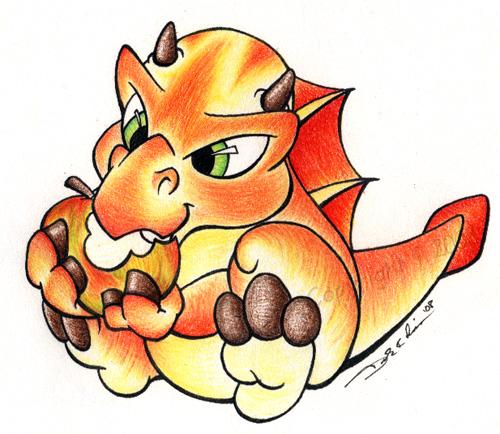 Honeycrisp Dragon
