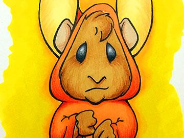 Burny Hamster